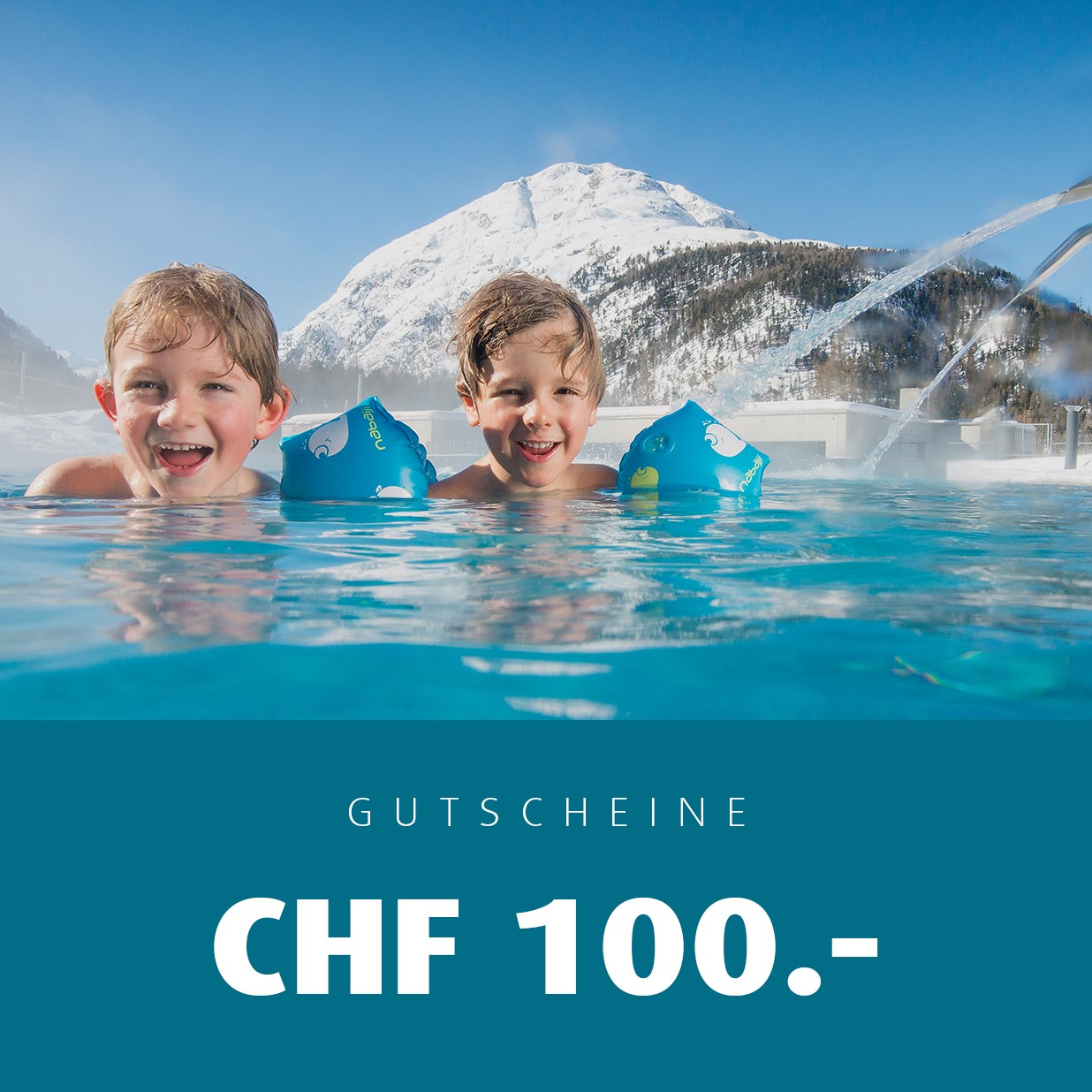 Gift certificates Bellavita for CHF 100.00