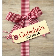 Gift certificates for the Hotel Morteratsch CHF 100