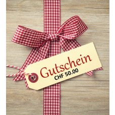 Gift certificates for the Hotel Morteratsch CHF 50